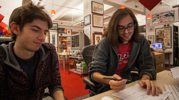 David Karp and Jacob Bijani of Tumblr