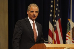 Attorney General Eric Holder. Photo by Ryan J. Reilly and used here with Creative Commons license.