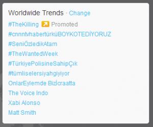 Turkish phrases dominate Twitter's world trend list