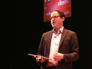 New York Times' Nate Silver at the Personal Democracy Forum in New York City June 7, 2013. Photo by Zach C. Cohen.