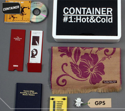Items from issue #1 of CONTAINER