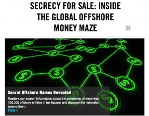 The International Consortium of Investigative Journalists worked with 86 investigative journalists from 46 countries to shine light on offshore tax havens.