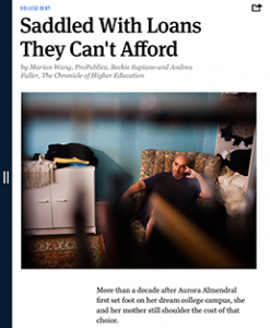 "One of the articles in ProPublica's July 2013 ""Dream Denied"" issue."