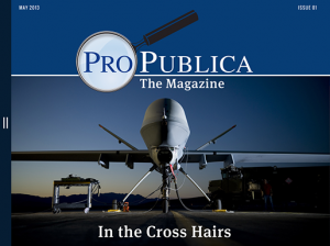 The May 2013 issue of ProPublica's magazine.