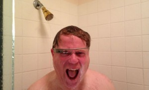 Robert Scoble, a guest on this week's podcast, is well-known for this photo, from his Google+ page.