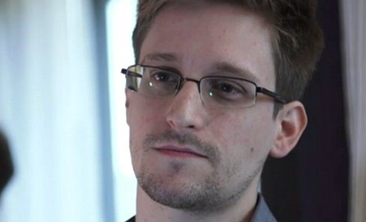 Edward Snowden was the keynote speaker at this year's PDF conference.