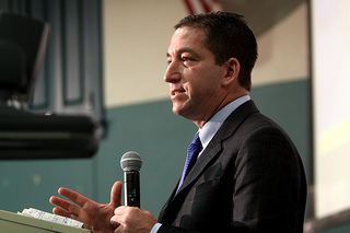 Guardian journalist Glenn Greenwald. Photo by Gage Skidmore and used here under the Creative Commons license.
