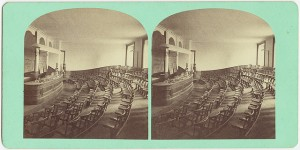 Classroom, Institute of Technology, Boston, circa 1850 - 1929. Photo by Boston Public Library on Flickr and used here with Creative Commons license.