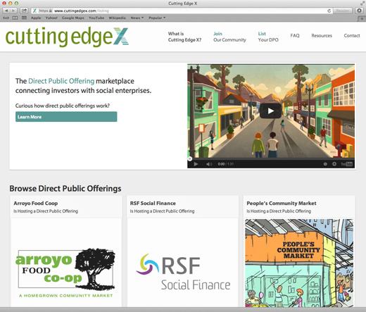 CuttingEdgeX homepage