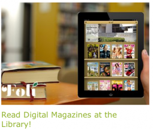 Escondido Public Library advertises its Foli service on its website.