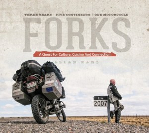 Cover Forks the Book Allan Karl Kickstarter Author Success
