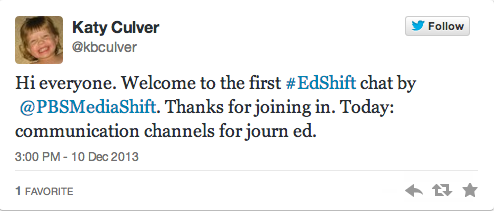@kbculver-#edshift-tweet