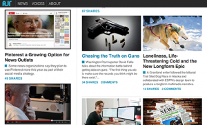 American Journalism Review has relaunched entirely online, involving students in reporting and writing the content.