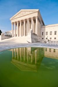 The Supreme Court Building in Washington, D.C.