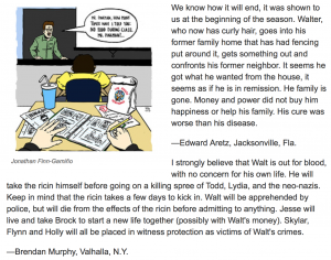 "WSJ readers predicted how the ""Breaking Bad"" series finale would end."