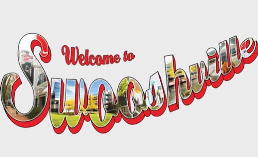 Swooshville logo