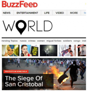 "BuzzFeed is one of the ""Big 30"" digital pubs to beef up its international coverage."