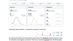 Strategic social media campaigns