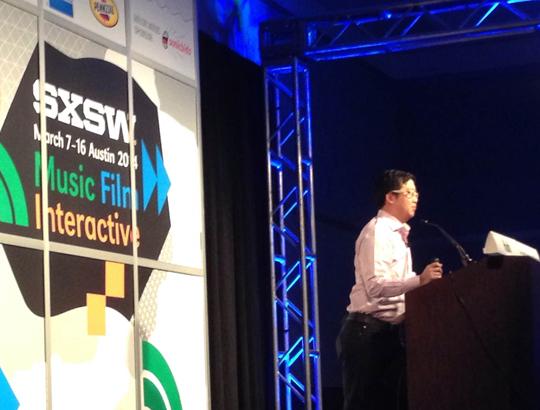 Ben Huh speaks at SXSW
