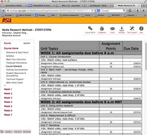 online screenshot
