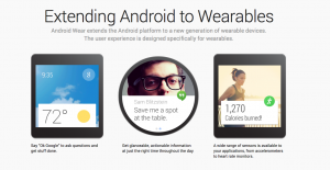 """Android Wear"" is coming soon."