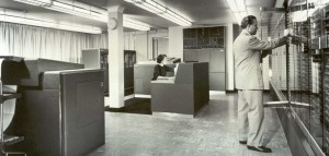 IBM NORC, 1954. Courtesy of Columbia University Computing History