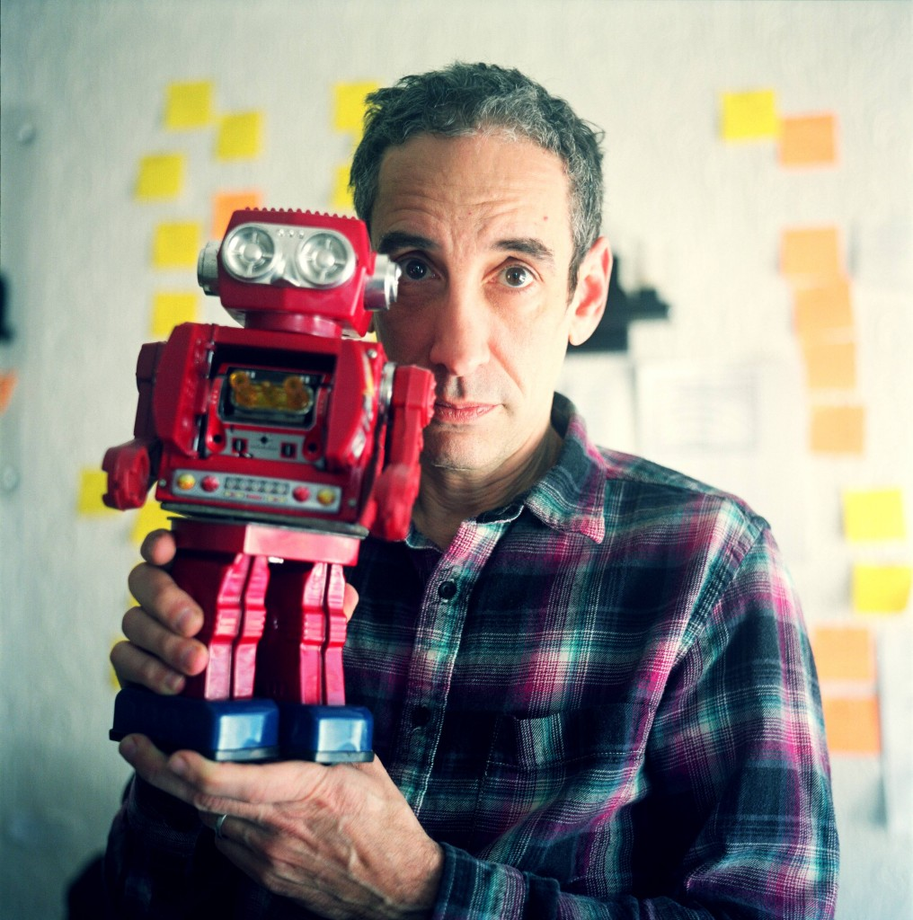 Douglas Rushkoff, courtesy photo by Iain Marks.