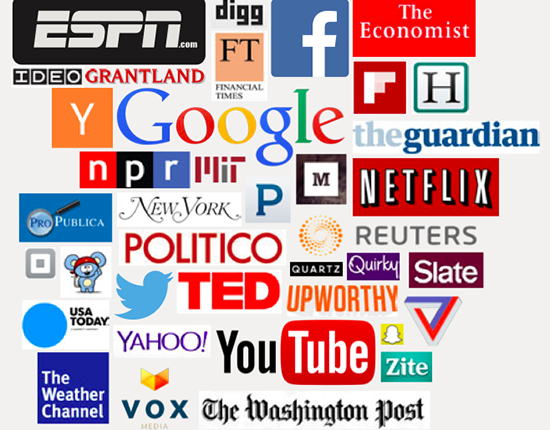 The Times sees a vast array of competitors across the digital landscape.