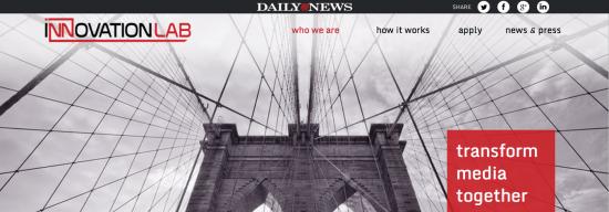 NY Daily News Innovation Lab