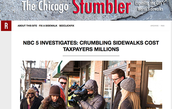 Chicago Stumbler Screengrab