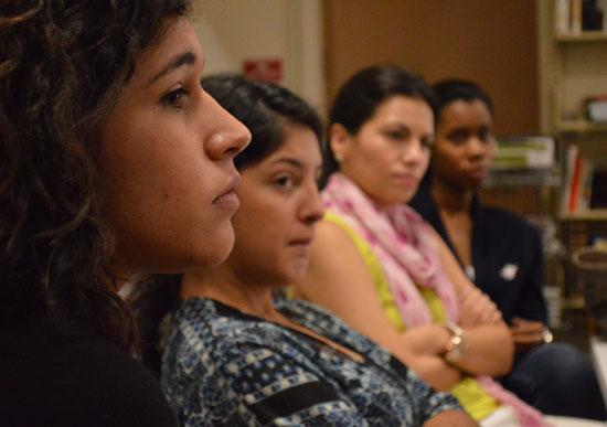 Students attending a Grammar Workshop.