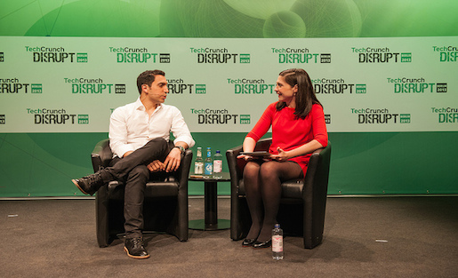 Presenters talk at Day 2 of TechCrunch Disrupt Europe: Berlin last year. This year's stateside event is coming up in early September in San Francisco. Photo by TechCrunch on Flickr and used here with Creative Commons license.