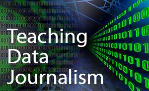 Teaching Data Journalism logo