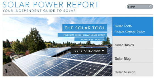 Solar Power Report