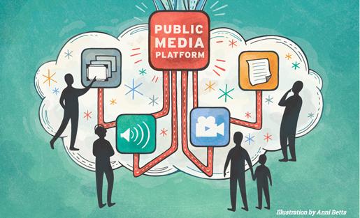 public media platform