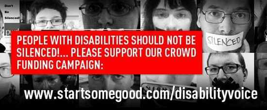A campaign is underway to crowdfund a new advocacy journalism website by people with disability.