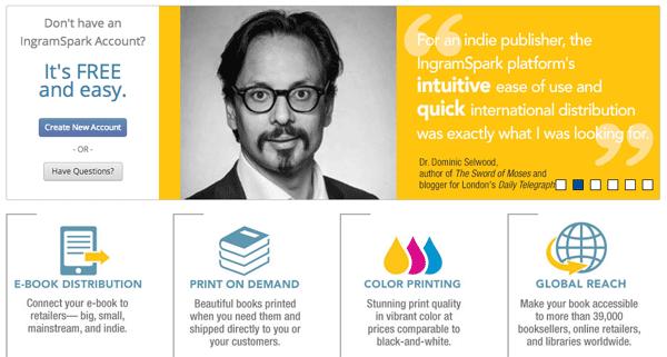 IngramSpark for Print and Ebooks