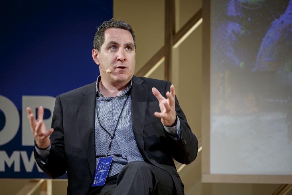 David Reiter, Vice President of Newsgather, ABC News, Courtesy of Social Media Week 2015