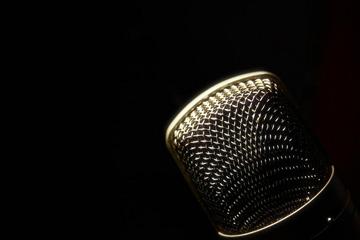 mic closeup