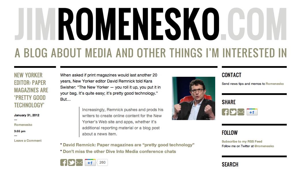 http://www.pbs.org/mediashift/Homepage