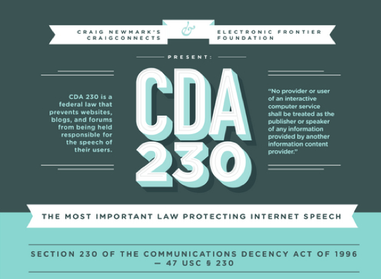 a history of the communications decency act Twitter trouble: the communications decency act in legislative history of the communications decency act communications decency act in inaction 405.