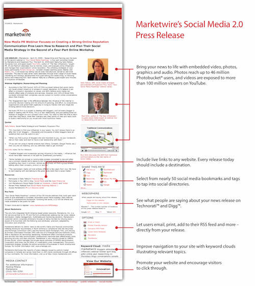 Social Media Release Must Evolve to Replace Press Release