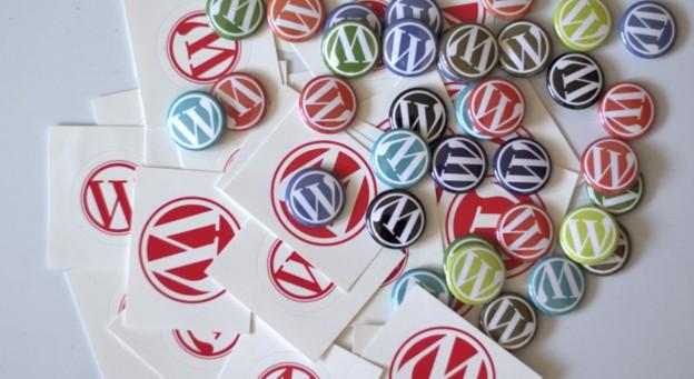 New WordPress Buttons and Stickers, photo by Nikolay Bachiyski