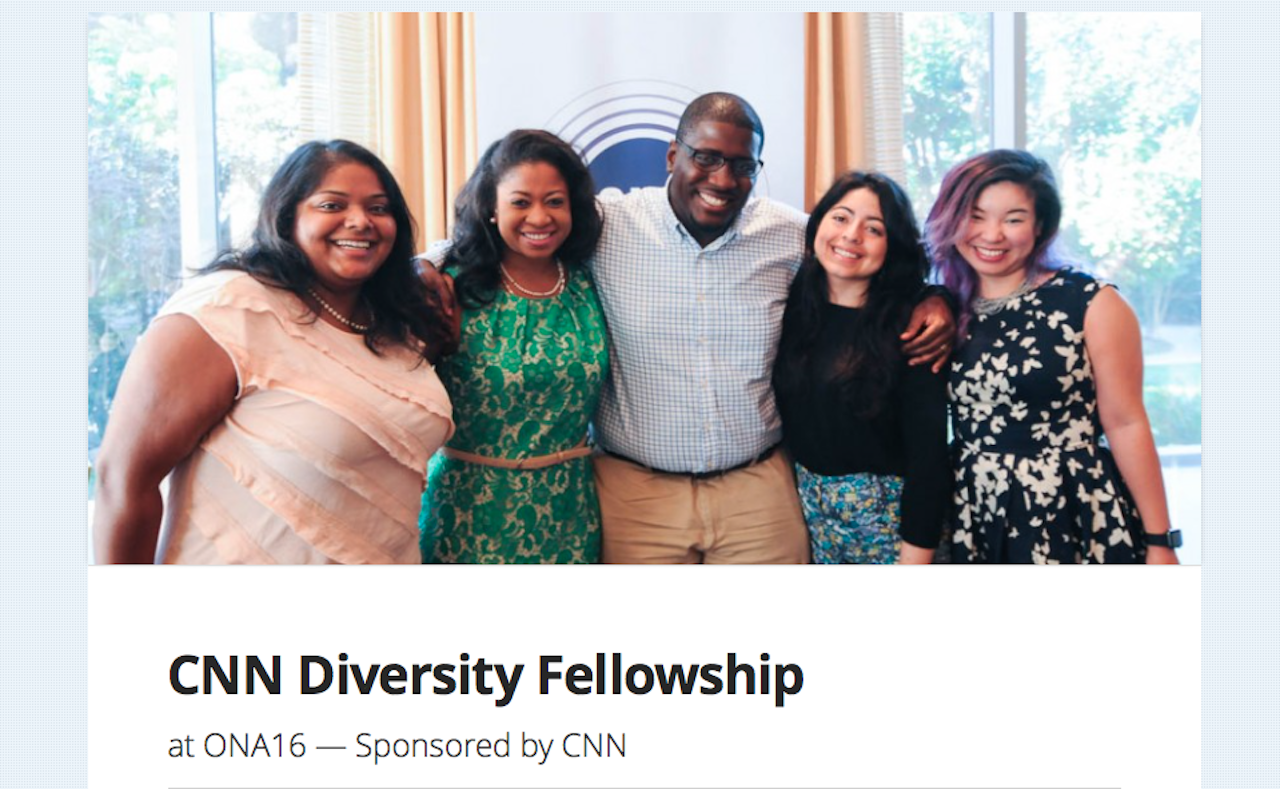 CNN Diversity Fellowship ONA 16